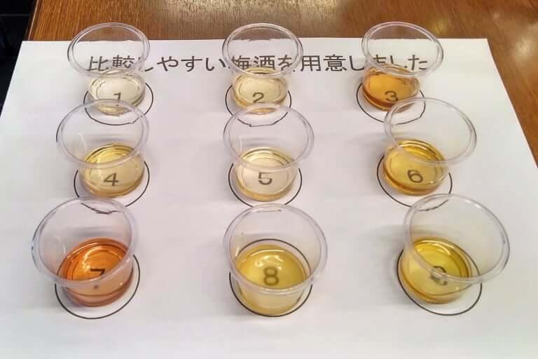 試飲の梅酒