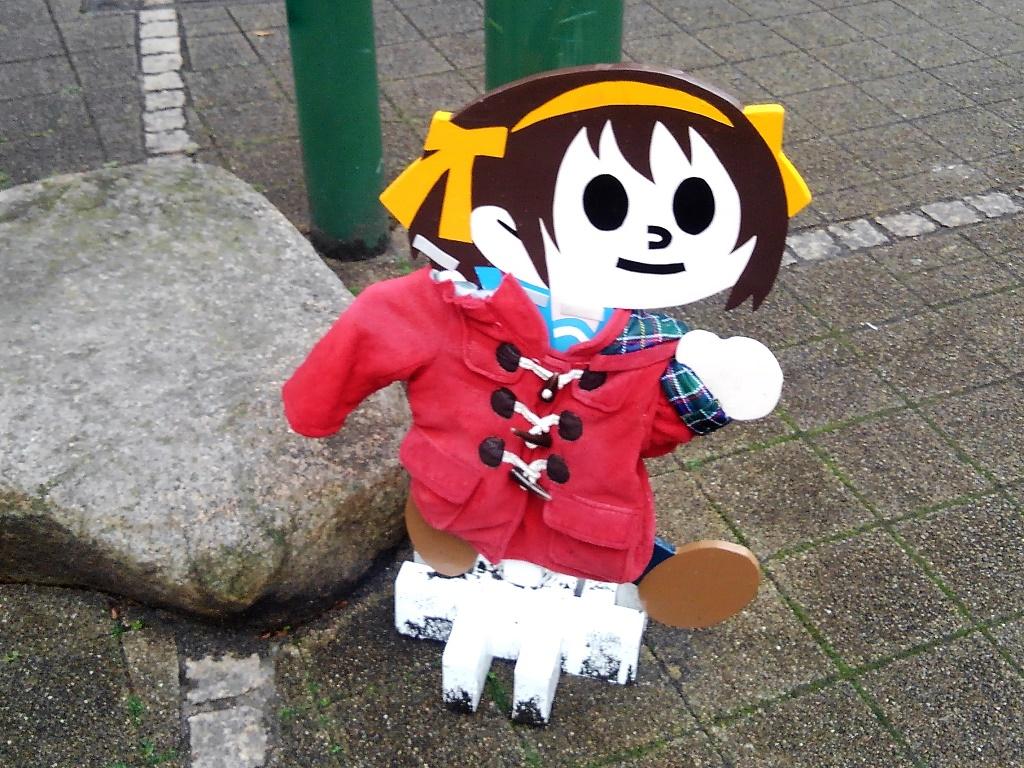 ハルヒの飛び出し人形