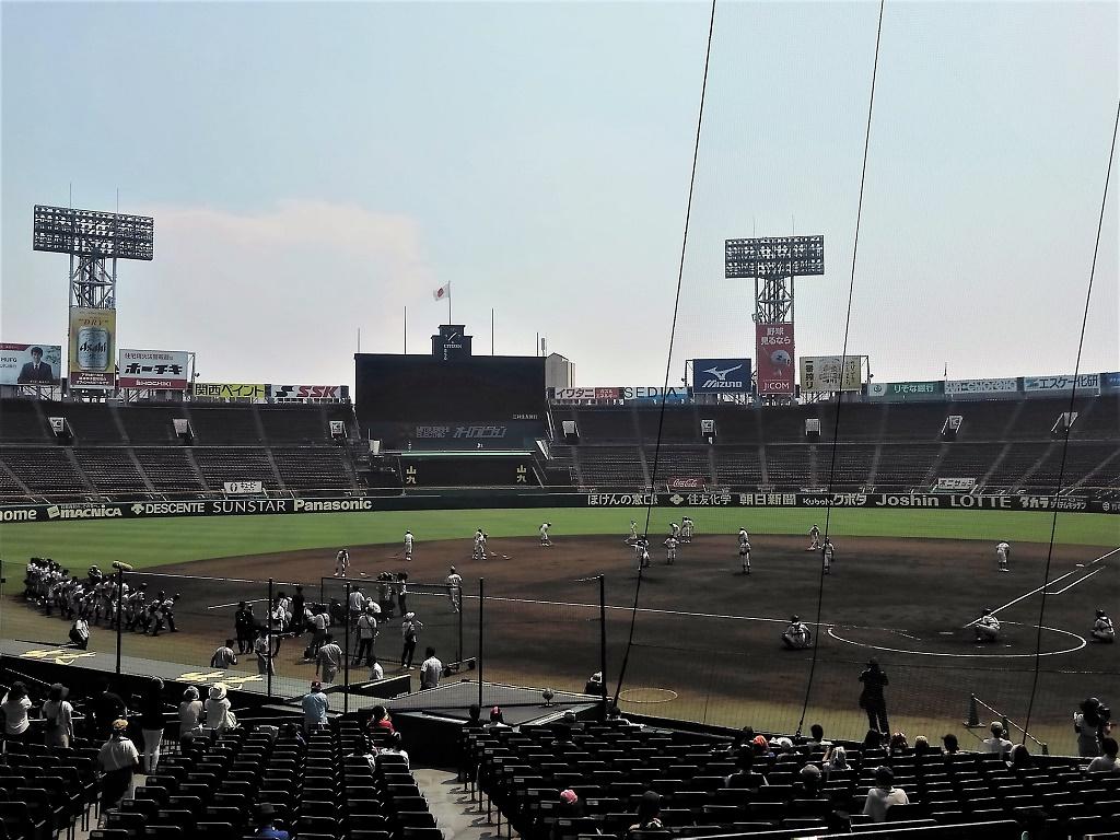 西宮市 夏の高校野球シーズン到来 阪神甲子園球場では 球児たちの