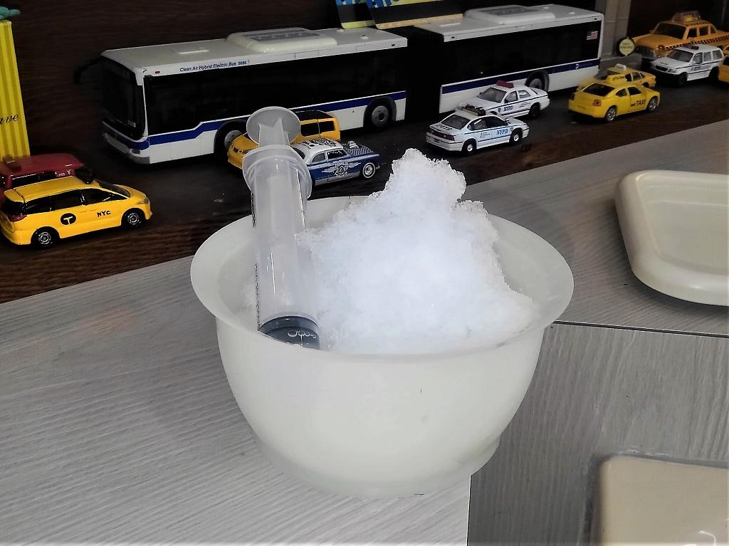 かき氷シャンプー