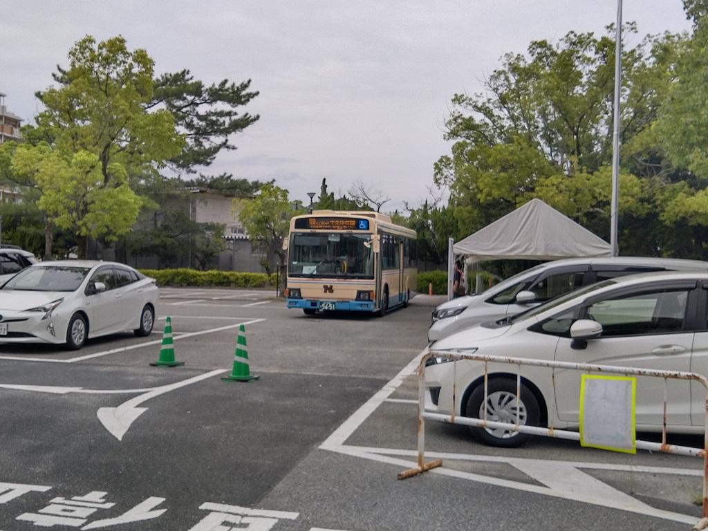 無料バスと駐車場